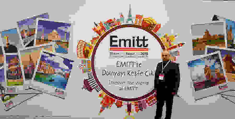 Ο Δήμος Βέροιας στην Διεθνή Έκθεση Τουρισμού 23η Διεθνή Έκθεση Τουρισμού 'EMITT' της Κωνσταντινούπολης