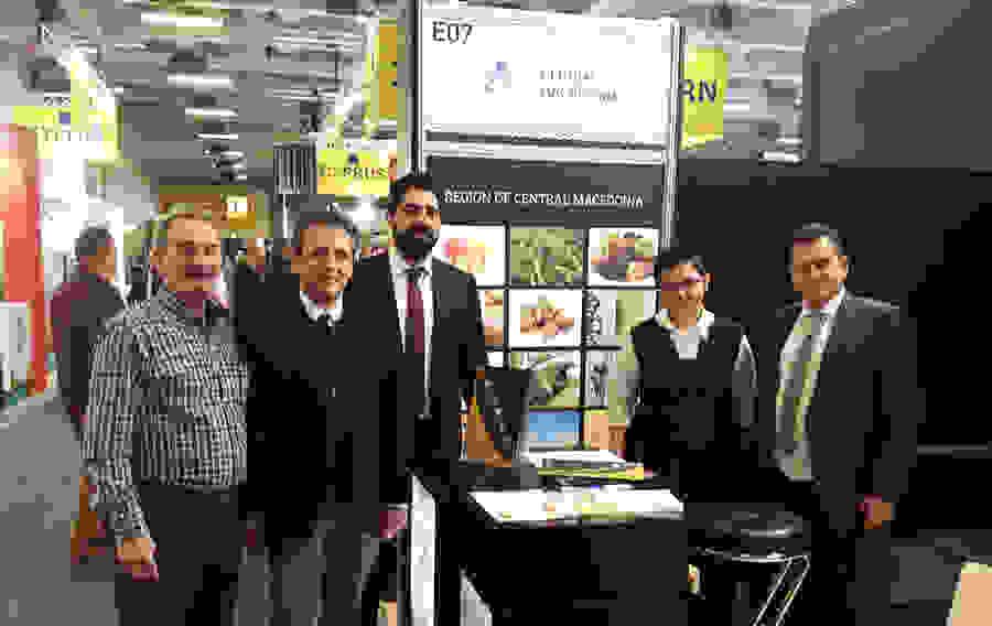 Ο Κώστας Καλαϊτζίδης στη Fruit Logistica του Βερολίνου με στόχο τη διεθνή προβολή των προϊόντων της Ημαθίας