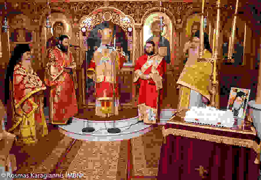 Αγρυπνία στον Ιερό Ναό Αγίου Λουκά του ιατρού στην Ιερά Μονή Παναγίας Δοβρά στην Βέροια