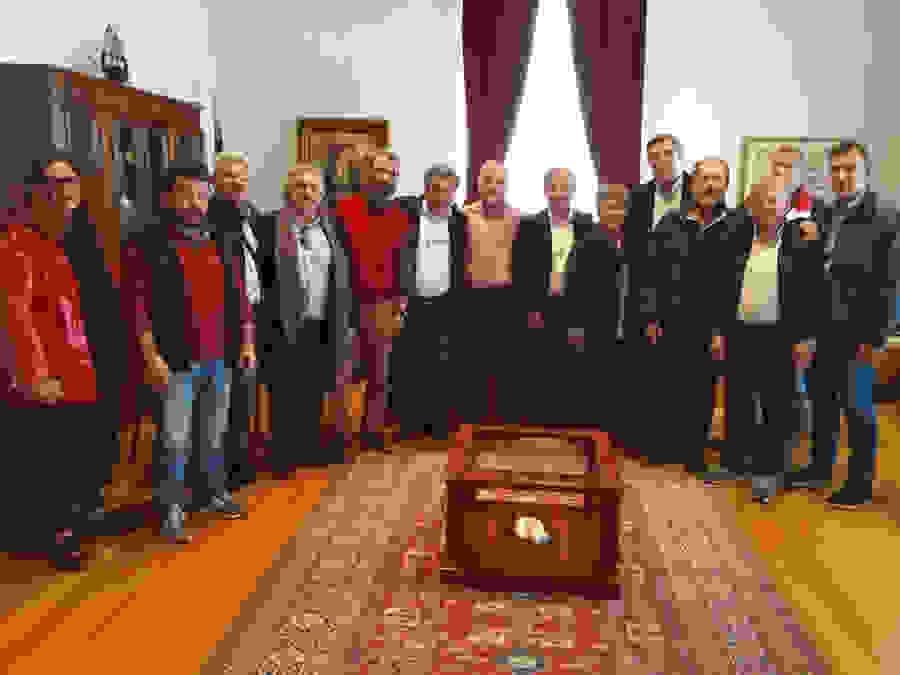 Ο Πρόεδρος του ΔΣ της ΔΕΥΑΒέροιας κ. Γεώργιος Ορφανίδης, συνάντησε το νέο Διοικητικό Συμβούλιο της Πανελλήνιας Ομοσπονδίας Εργαζομένων στις ΔΕΥΑ.