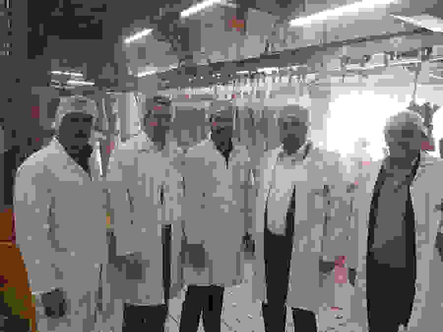Επίσκεψη του Κώστα Βοργιαζίδη στο Βιομηχανικό Σφαγείο Βέροιας