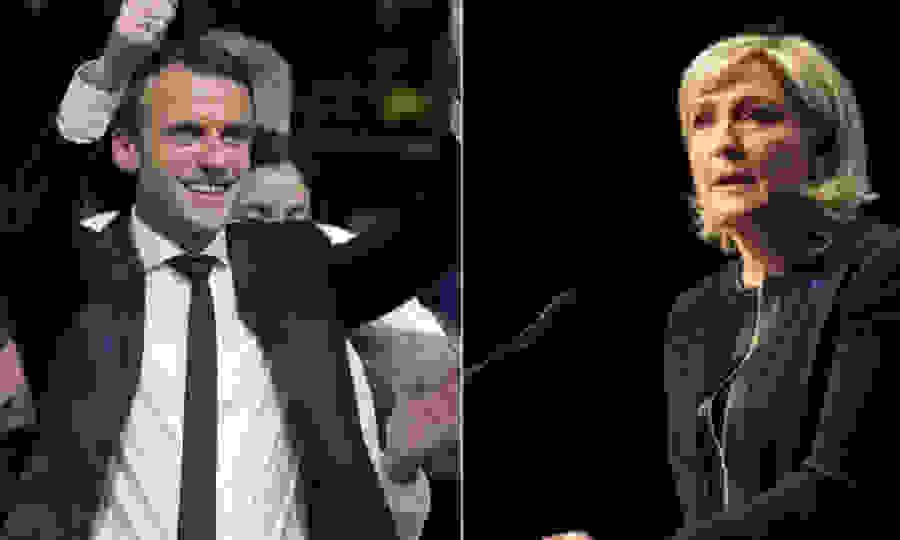 Ποσοστά – έκπληξη για Λεπέν – Μακρόν καταγράφουν οι δημοσκοπήσεις στη Γαλλία