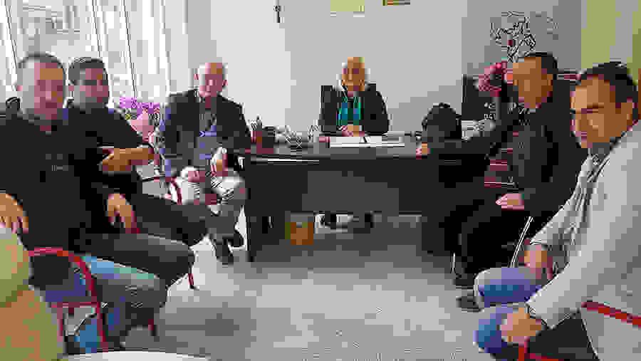 Με υπαλλήλους του Δήμου Βέροιας και της ΚΕΠΑ συναντήθηκε η Γεωργία Μπατσαρά