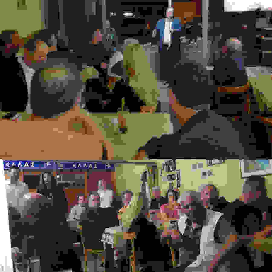 Προτεραιότητα στον Πολίτη: ο Αντώνης Μαρκούλης στο καφενείο «ΣΟΥΕΖ»