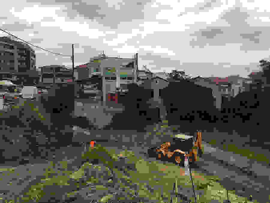 Ξεκίνησαν οι εργασίες διαπλάτυνσης της οδού Πιερίων