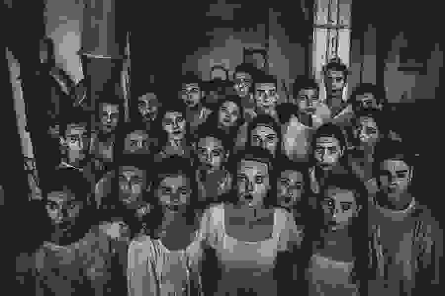 ΔΗ.ΠΕ.ΘΕ Βέροιας  Τμήμα  Θεατρικής Υποδομής  Ομάδα «Ορίζοντες» «Ιστορίες στο Σκοτάδι»