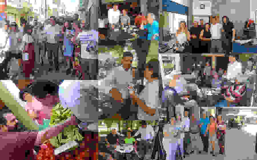 Ο υποψήφιος βουλευτής Ημαθίας Φώτης Κουτσουπιάς επισκέφτηκε τη Νάουσα