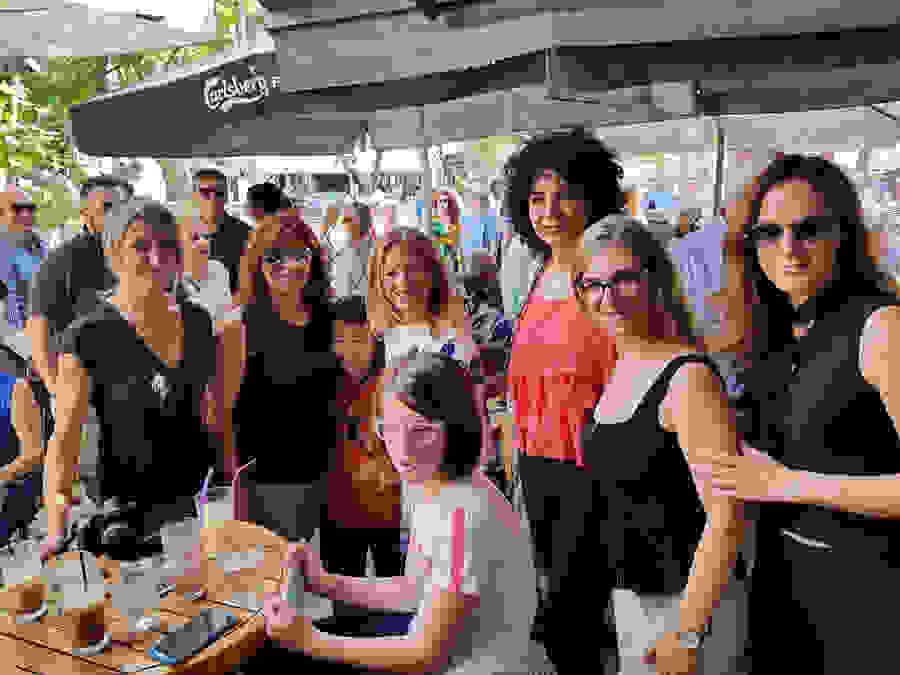 Νίκη Καρατζιούλα  Επίσκεψη Μητσοτάκη στη Βέροια