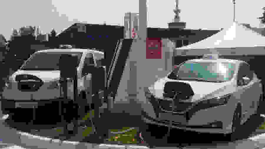 Ετσι θα είναι τα πρώτα ηλεκτρικά ταξί: Πρωτοεμφανίζονται στη Θεσσαλονίκη