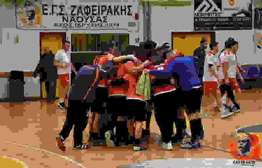 Συγχαρητήρια δήλωση του Δημάρχου Νάουσας Νικόλα Καρανικόλα για την άνοδο της ανδρικής ομάδας χάντμπολ του «Ζαφειράκη»στην Α1 Κατηγορίατης handballpremiere