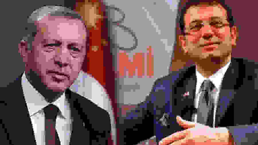 «Καμπανάκι» για τον Ερντογάν: Το 45,5% προτιμάει για πρόεδρο τον Ιμάμογλου
