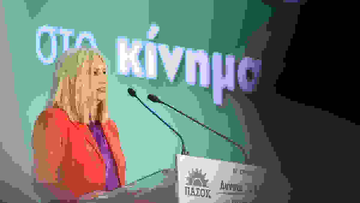 Γεννηματά στο Realfm: Ο κ. Μητσοτάκης πασχίζει να κρατήσει έξω από το κάδρο των πολιτικών ευθυνών τον κ. Τσίπρα
