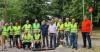 Εθελοντικές εργασίες καθαριότητας και καλλωπισμού στο πάρκινγκ του Δημοτικού Κολυμβητηρίου Νάουσας