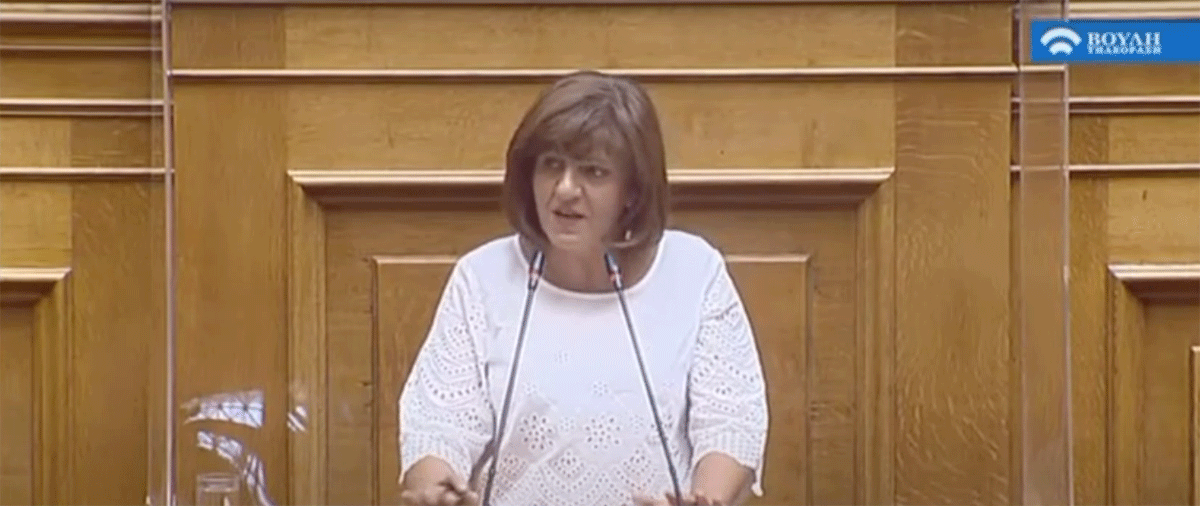 Δήλωση Φρόσως Καρασαρλίδουγια τις ζημιές στις καλλιέργειες