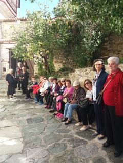Αμπελάκια  Λαρίσης ήταν ο προορισμός   την   Πέμπτη 19 Οκτωβρίου για τα μέλη του ΚΑΠΗ ΒΕΡΟΙΑΣ