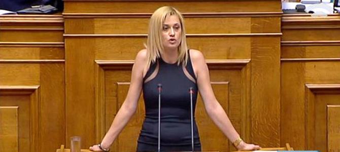 Ραχήλ Μακρή: «Το μέρισμά τους είναι σεσημασμένο για τους Έλληνες. Σε αυτό κρύβονται, η σήψη και η απάτη της πολιτικής Τσίπρα - Καμμένου»