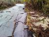 Ενδεικτικό φωτογραφικό υλικό από τις καταστροφές του οδικού δικτύου στην Χαράδρα Ημαθίας