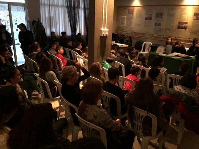 Πραγματοποιήθηκε η ενημέρωση για την πρόληψη της παιδικής σεξουαλικής κακοποίησης και προβολή της καμπάνιας «ΕΝΑ στα ΠΕΝΤΕ» από την Εύξεινο Λέσχη Χαρίεσσας.