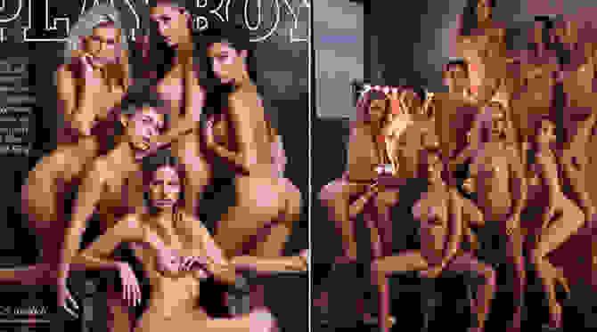 Καυτές, ολόγυμνες καλλονές στο γερμανικό «Playboy»