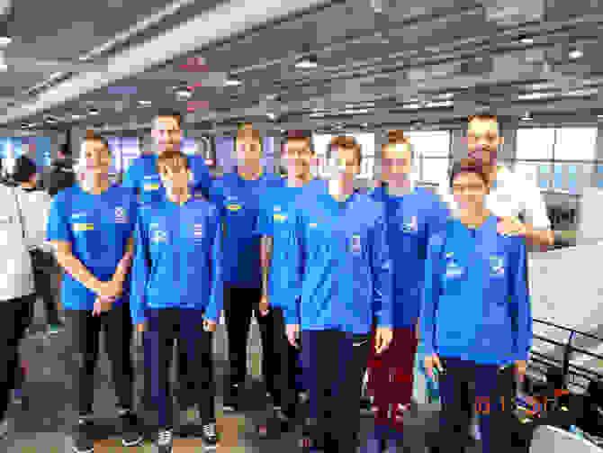 Η αγωνιστική ομάδα του Πήγασου στα 25α Αλεξάνδρεια.