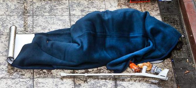 Στη Φρανκφούρτη θα κόβουν πρόστιμα στους άστεγους