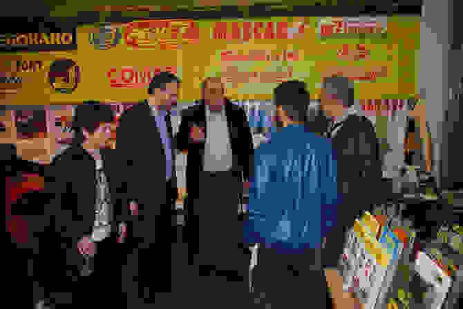 Επίσκεψη του Προέδρου της ΔΗΜΑΡ Θανάση Θεοχαρόπουλου στην AGROTICA