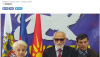 Τα Σκόπια οδεύουν προς… διχοτόμηση: Ο Ιβανόφ πραξικοπηματικά δεν αναγνώρισε την αλβανική γλώσσα