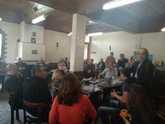 Τα Ριζώματα επισκέφθηκαν οι τρεις βουλευτές του ΣΥΡΙΖΑ  Καρασαρλίδου φροσω, Ουρσουζίδης Γιώργος, Αντωνίου Χρήστος