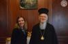 Η Υφυπουργός Εξωτερικών του Καναδά  κυρία Stefanie Beck στο Οικουμενικό Πατριαρχείο
