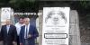 Πύθιο Διδυμοτείχου: Συγκίνηση μπροστά στην αναμνηστική στήλη του Εθνάρχη θείου του, για τον Κώστα Καραμανλή