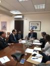 Απόστολος Βεσυρόπουλος - Συνάντηση εργασίας με τον Διοικητή της ΑΑΔΕ