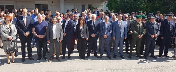 Ο αντιπεριφερειάρχης Ημαθίας Κώστας Καλαϊτζίδης στις εκδηλώσεις για την ημέρα μνήμης της Ποντιακής Γενοκτονίας, στην Επισκοπή Νάουσας