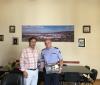 Συνάντηση Δημάρχου Βέροιας με το νέο Διοικητή της Πυροσβεστικής Υπηρεσίας