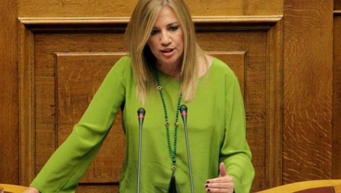 Φώφη Γεννηματά: «Η θηλιά στο λαιμό των Ελλήνων παραμένει»