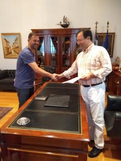 Ορκωμοσία του Γιώργου Μιχαηλίδη ως δημοτικός σύμβουλος στο Δήμο Βέροιας