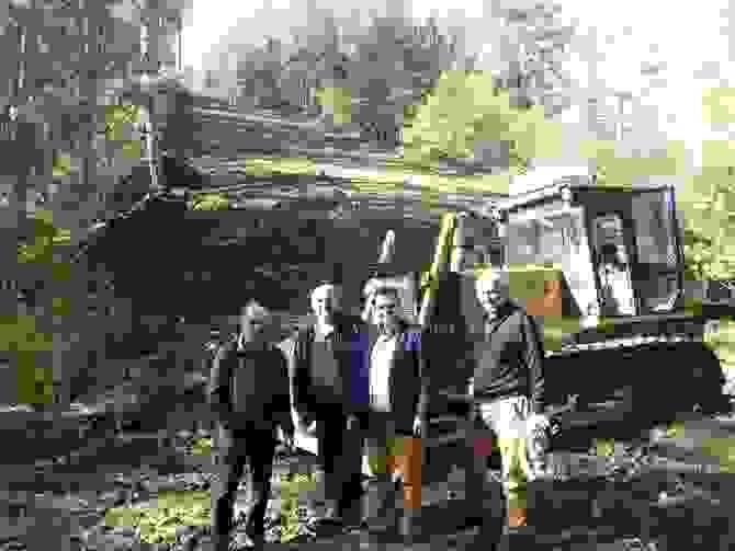 Επίσκεψη του Αντιπεριφερειάρχη Κώστα Καλαιτζίδη στα έργα διάνοιξης και συντήρησης αντιπυρικών ζωνών στα δάση Σελίου και Τσανακτσή